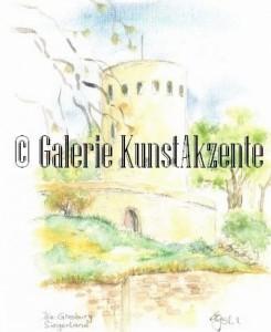Kunstdruck Ginsburg_klein_brand